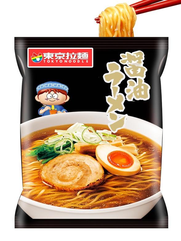 Fideos Ramen Shoyu   Tokyo Noodle 88 grs