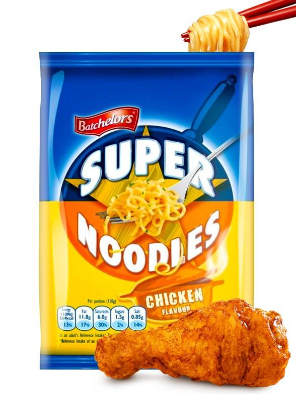 Ramen Salteado con Pollo   Super Noodles