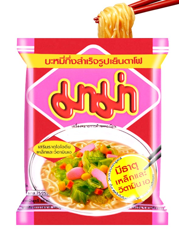 Ramen Tailandés de Sopa Yentafo 60 grs