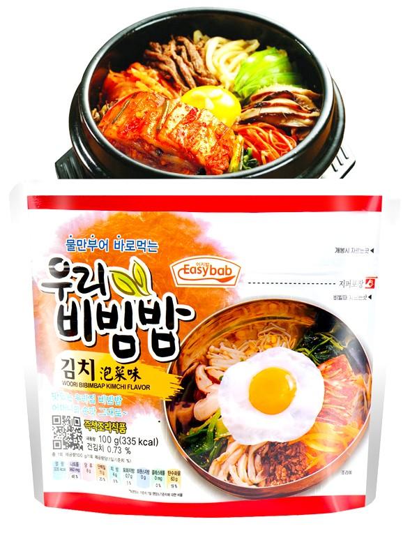 Arroz Bibimbap Instantáneo con Kimchi 100 grs.