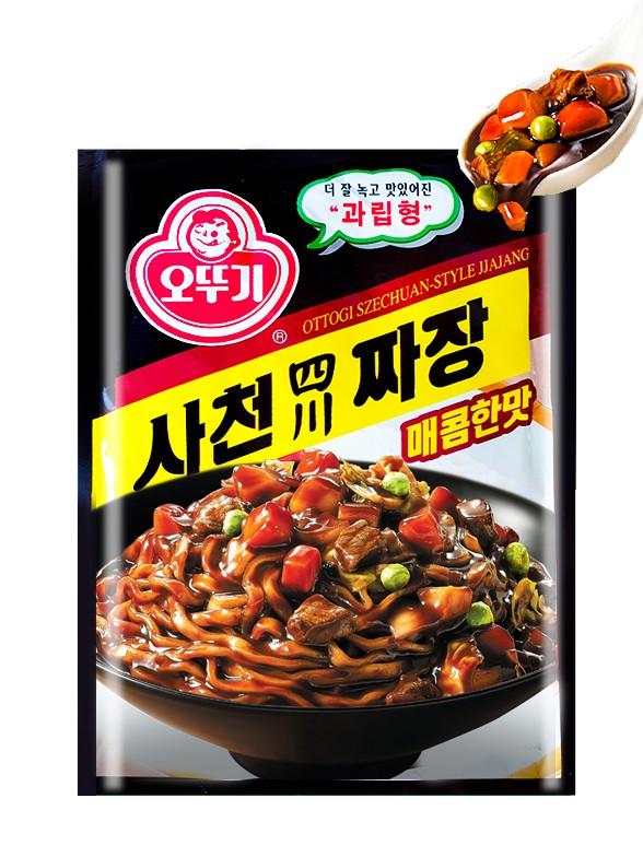 Salsa Coreana Chajang estilo Szechuan 100 grs