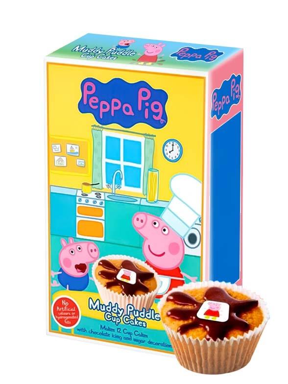Preparado para Cupcakes de Peppa Pig | 12 uds | 195 grs