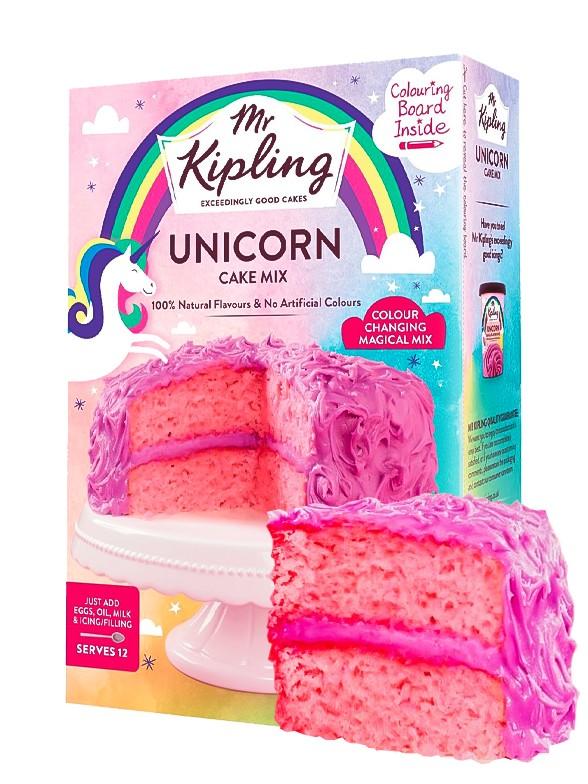 Preparado Unicorn Cake Mix Vainilla Rosa 400 grs.