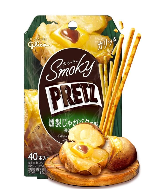 Sticks Pretz Sabor Patata Asada con Mantequilla y Soja   24 grs