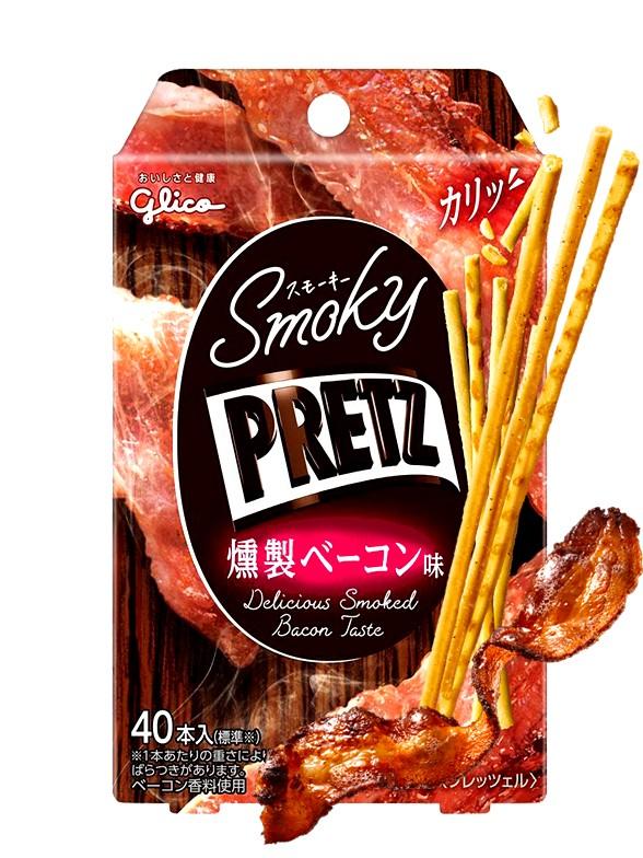 Sticks Pretz Sabor Bacon Ahumado | 24 grs