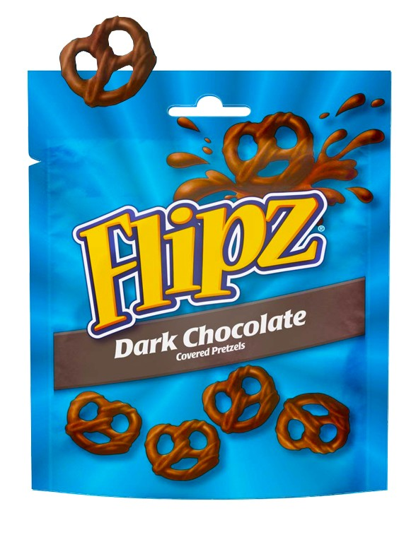 Pretzels con Chocolate Negro | Flipz 100 grs