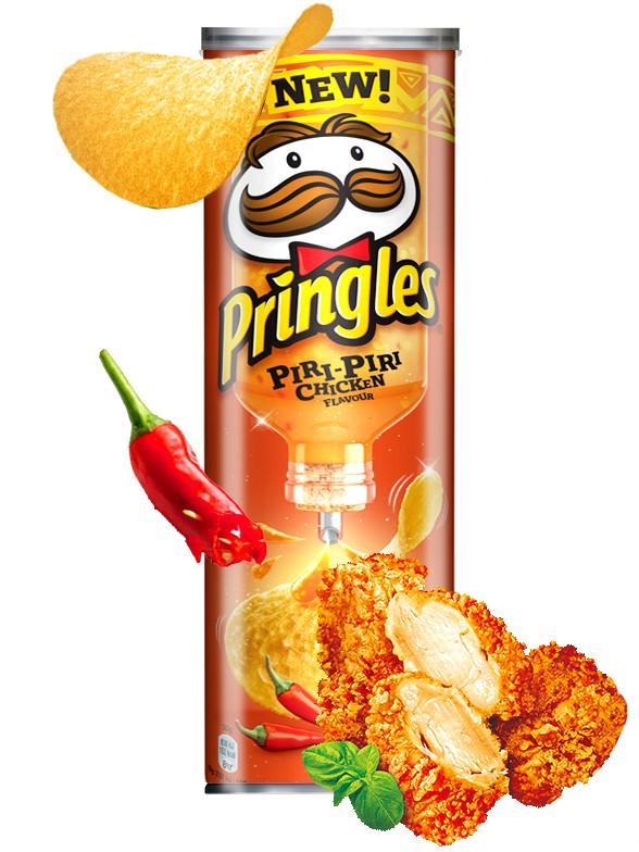 Pringles Sabor Pollo Picante Piri Piri 180 grs