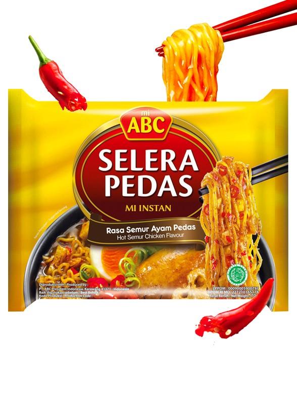 Ramen Mi ABC de Pollo Semur Picante 70 grs.
