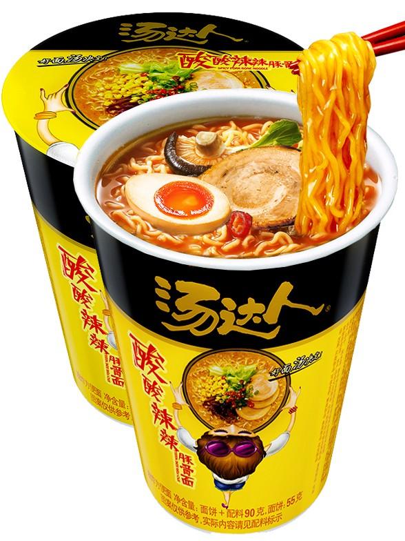 Fideos Ramen de Cerdo Picante   Tomodachi Cup 90 grs.