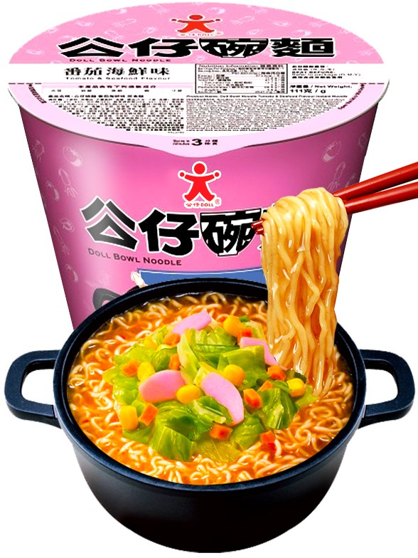 Ramen Colors Nissin Great Bowl Seafood y Tomate   Home Style 111 grs
