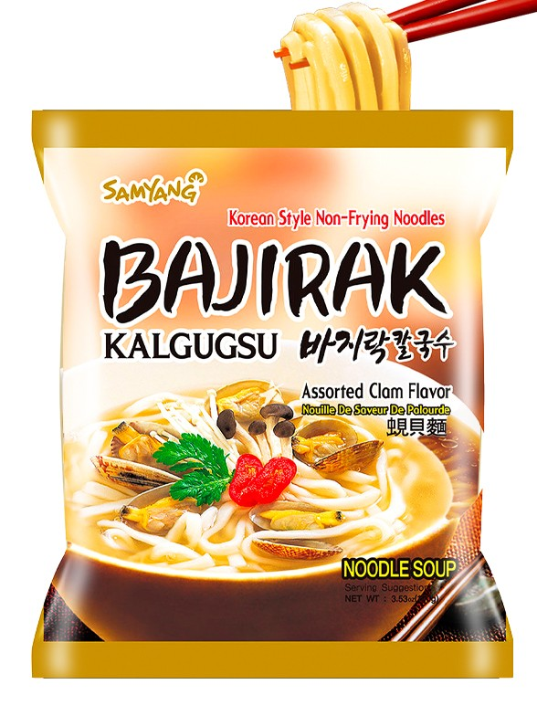 Ramen Coreano de Almeja | Bajirak Kalgugsu 100 grs