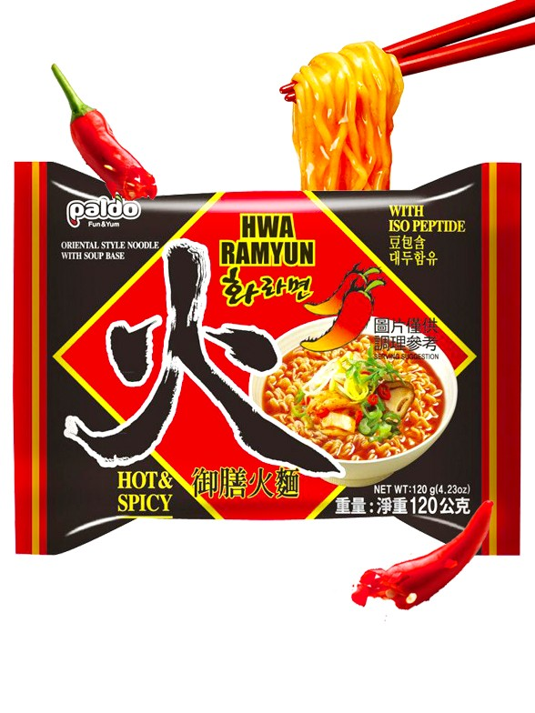 Fideos Ramen Coreanos Hwa Ramyun | Receta Clásica
