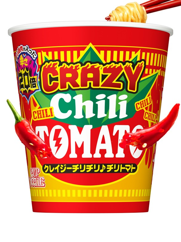 Nissin Cup Noodles Crazy Chili Tomato | Big Cup | Pedido GRATIS!