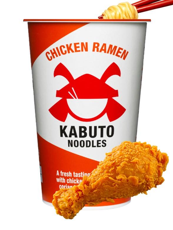 Ramen de Pollo Kabuto Noodles 85 grs.