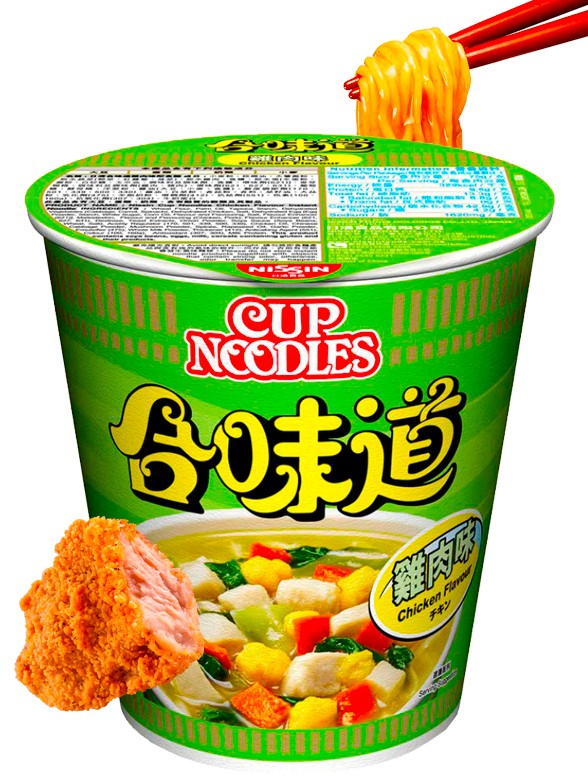 Ramen Nissin Colors Cup Super Toppings, Pollo