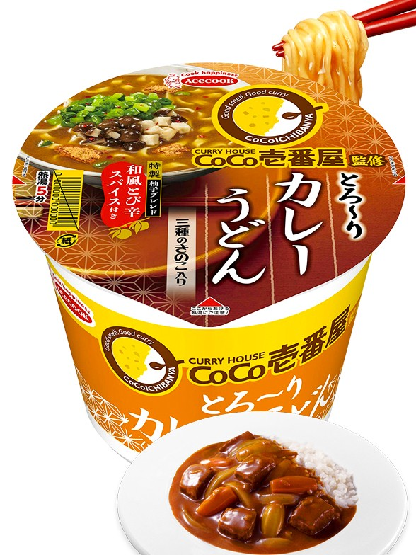Fideos Udon Super Cup | CoCo Creamy Curry House 92 grs.