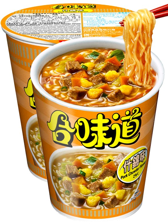 Ramen Nissin Colors Cup Super Toppings | Cerdo