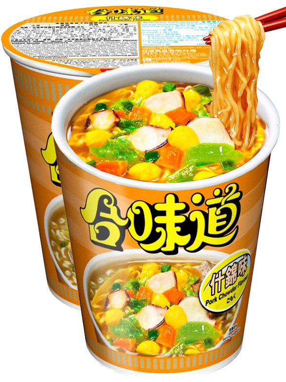 Ramen Nissin Colors Cup Super Toppings | Marisco y Curry