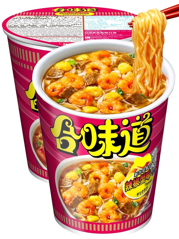 Ramen Nissin Colors Cup Super Toppings | Gambas