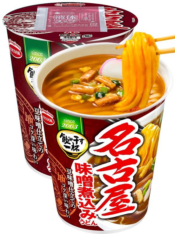 Fideos Udon Cup de Miso y Pollo | Receta de Nagoya 71 grs.