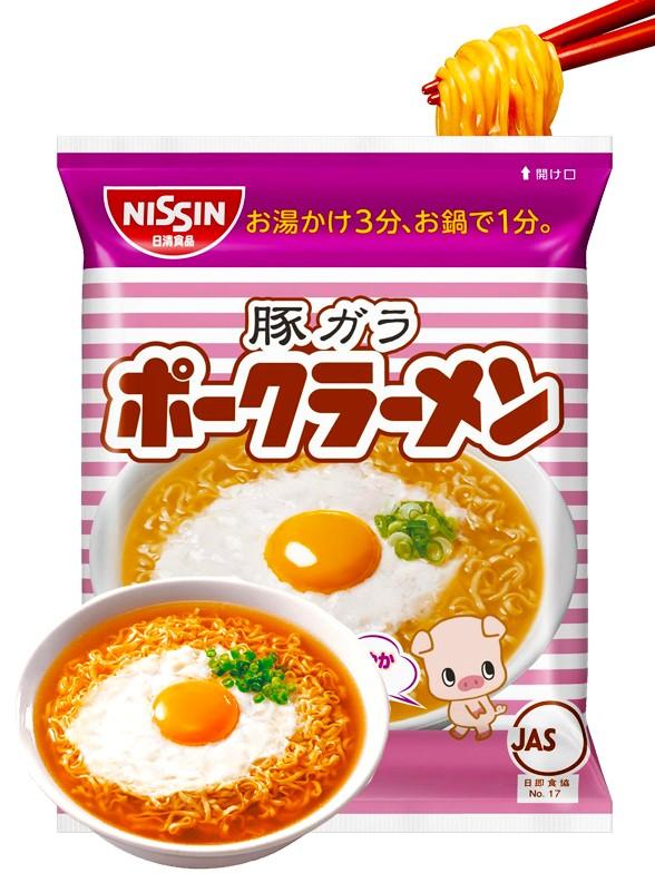 Fideos Nissin Pork Ramen   92 grs.