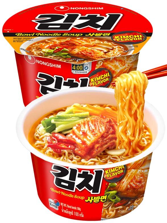 Fideos Ramen Coreanos con Salsa Kimchi   Bowl POT Edit 100 grs.