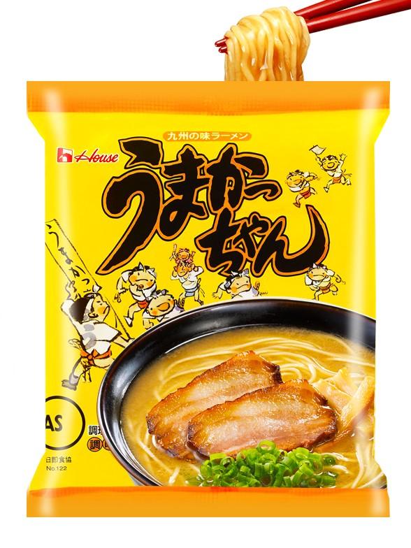Fideos Ramen Umakakchan de Cerdo y Verduras 94 grs.