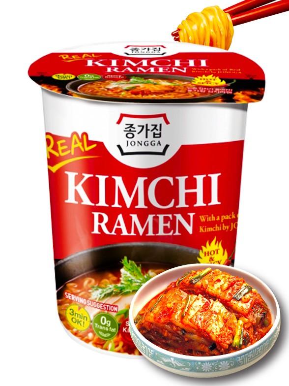 Fideos Ramen Coreanos con Kimchi | Cup Premium
