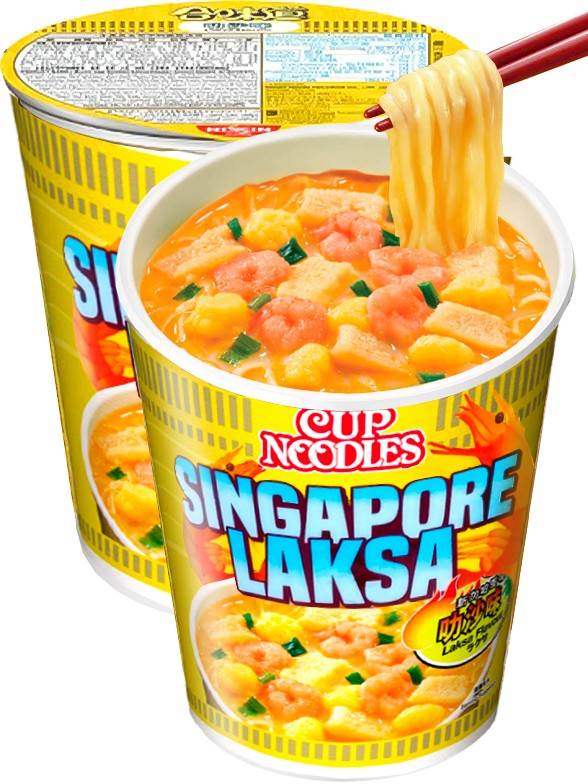 Ramen Nissin Colors Cup Super Toppings | Receta Laksa Marisco Picante