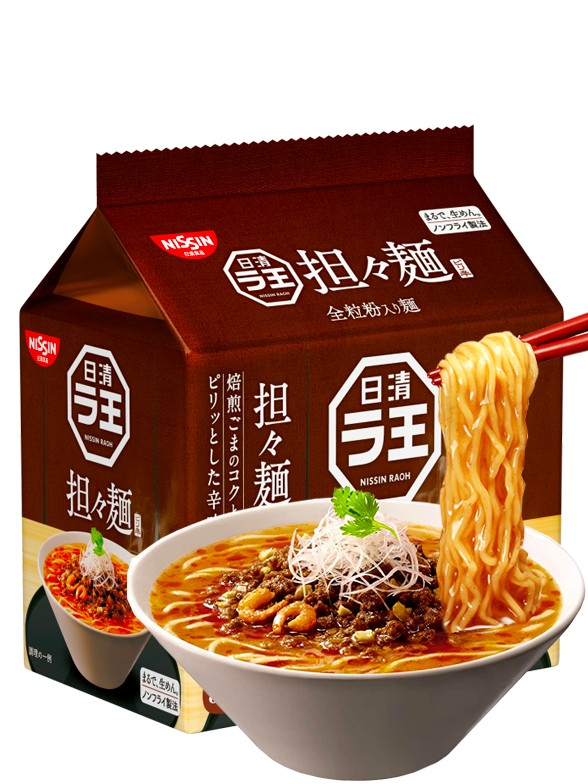 Fideos Ramen Raoh Tan Tan Men | New Recipe | Unidad 95 grs