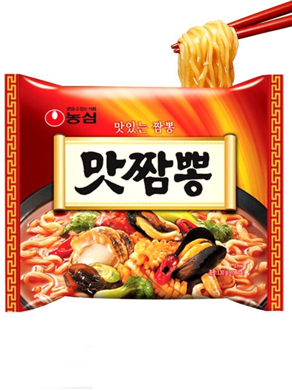 Ramen Coreanos Champong | Ingredientes al Wok