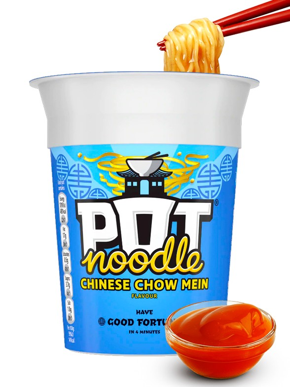 PoP PoT Noodles Sabor Chow Mein 90 grs.