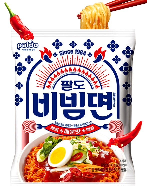 Fideos Ramen Bibimbap   Hot & Spicy 130 grs.