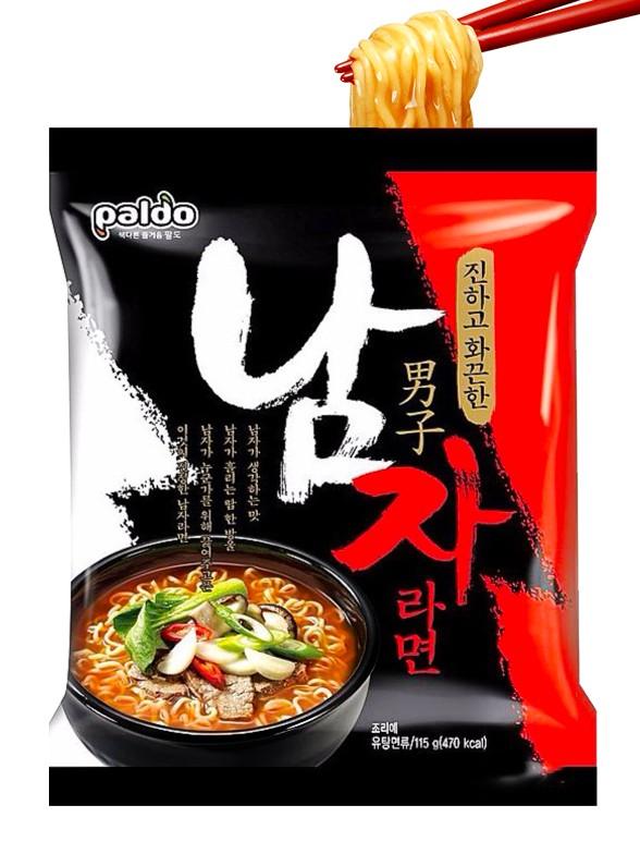 Fideos Ramen Coreanos Premium Namjalamyeon de Ternera | Top Ventas en Corea
