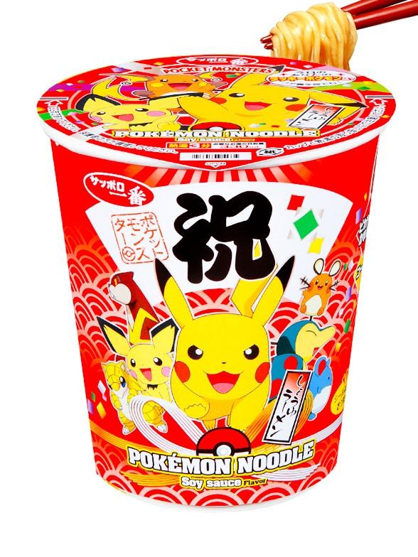 Fideos Shoyu Ramen Pokemon   Edicion Festival 64 grs.
