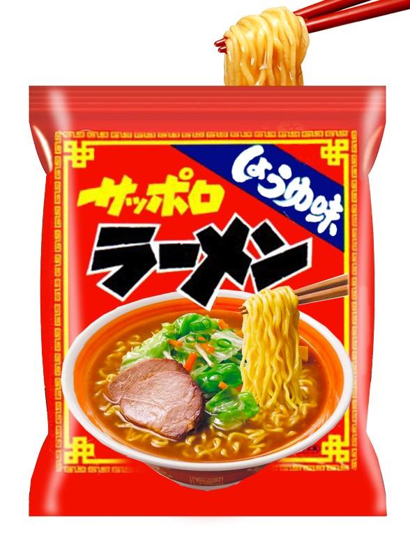 Fideos Ramen Shoyu | Receta de Sapporo 82 grs.