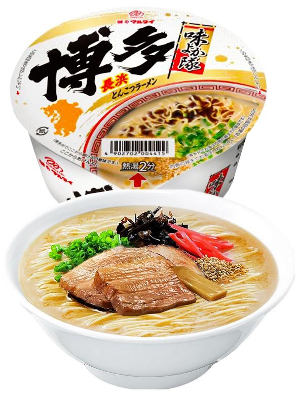 Fideos Ramen Tonkotsu Receta de Nagahama 71 grs