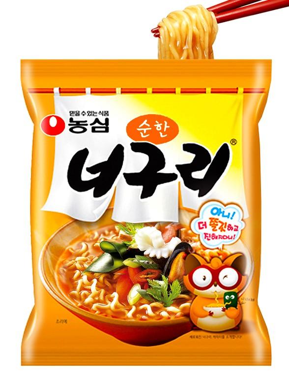 Fideos Udon Coreanos Neoguri Seafood & Surimi | Medio Picante