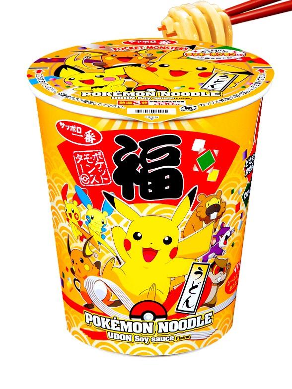 Fideos Shoyu Udon Pokemon   Edicion Festival 65 grs.