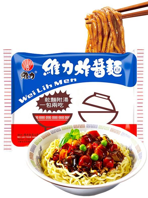 Ramen Wei Lih de Salsa Jajang y Sopa 90 grs
