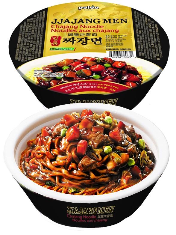 Ramen Coreanos Salteados con Salsa Chajang Fresca | Gold Bowl