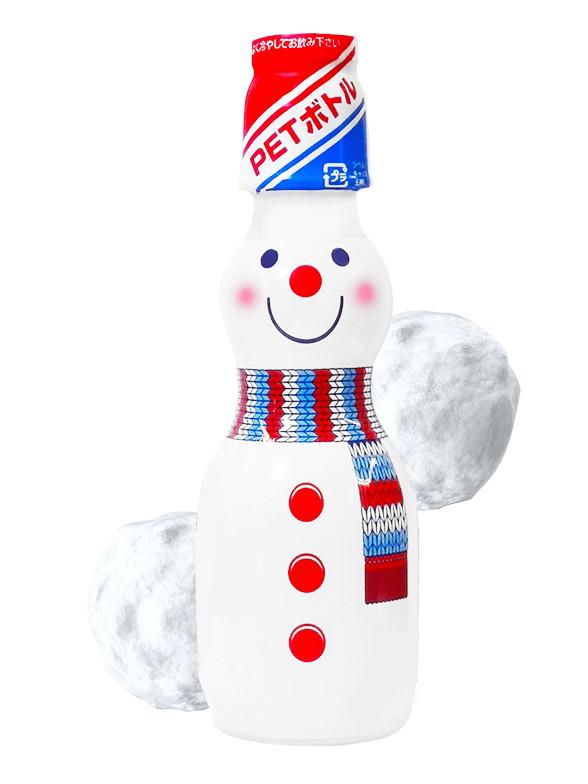 Soda Ramune de Nieve Snowman | Receta de Invierno 160 ml.