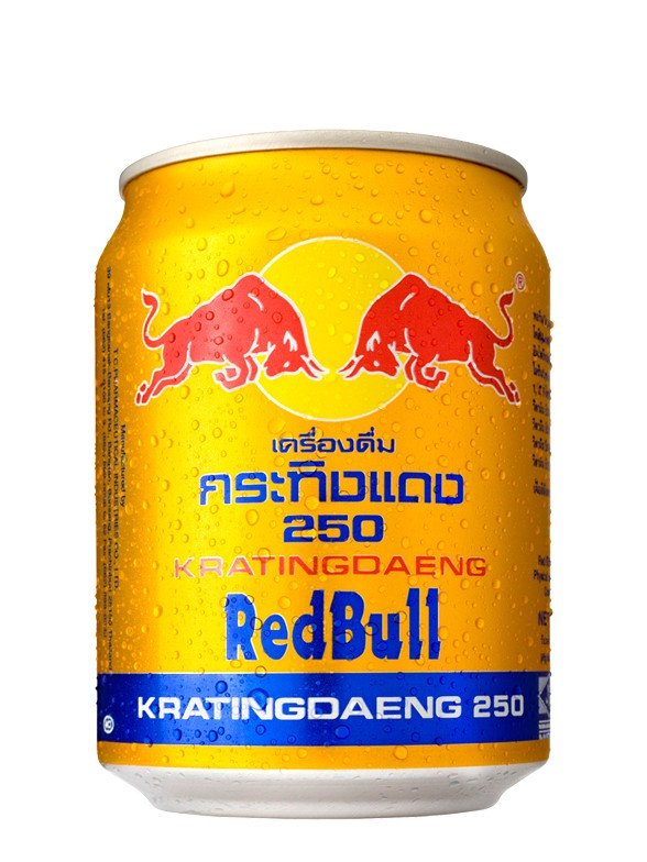 Red Bull GOLD Krating Daeng | Tailandia 250 ml