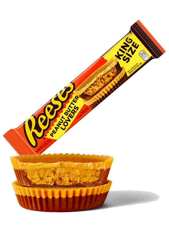 Chocolatinas 4 Cups Reese´s Doble Peanut Lovers | King Size 79 grs.