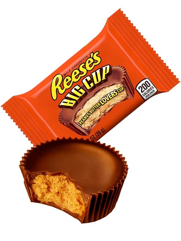 Chocolatina Big Cup Reese´s rellena de Crema de Cacahuete