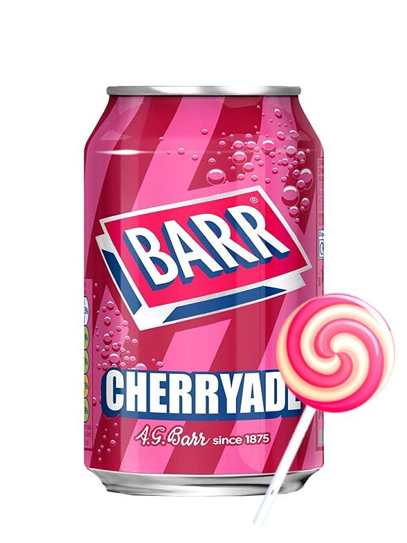 Soda Barr Cherryade | Sabor Piruleta