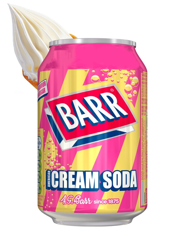 Soda Barr Ice Cream | Sabor Helado de Vainilla 330 ml.