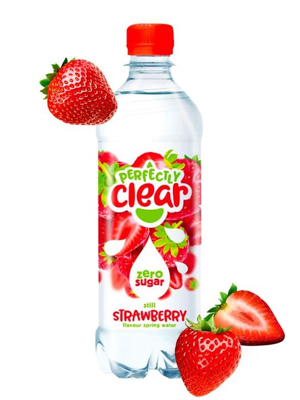 Refresco sabor Fresa | Sparkling Clear 500 ml.