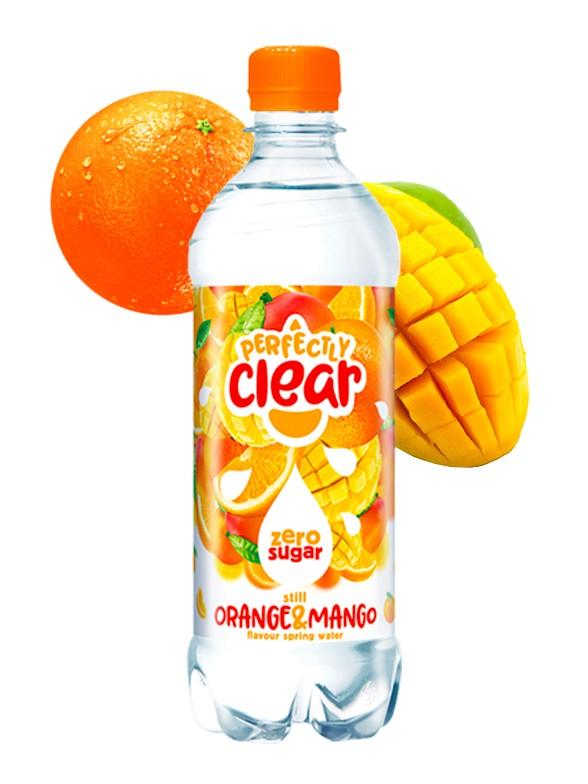 Refresco de Naranja y Mango | Sparkling Clear 500 ml.
