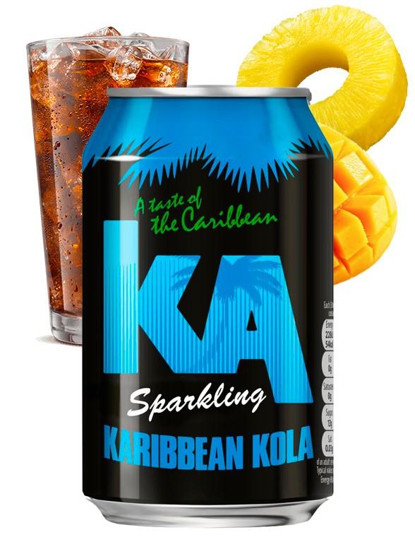 Refresco Karibbean Kola | KA 330 ml